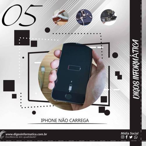 Iphone não carrega